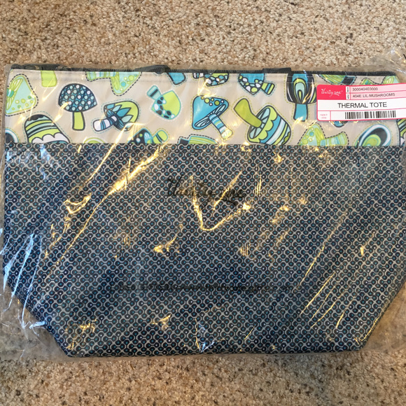 9ade5d22b82a thirty-one Bags   31 Gifts Thermal Tote Lil Mushrooms Nip   Poshmark